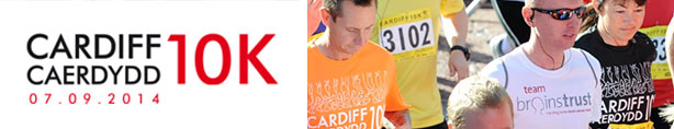 Cardiff 10k for brain tumour support in Wales