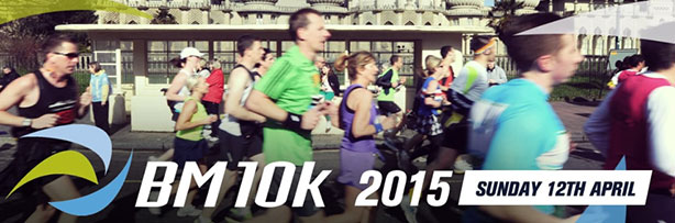 Brighton Marathon 10k for brain tumour support at brainstrust