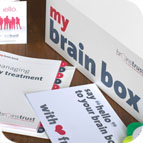 brain tumour help & support - brain box image