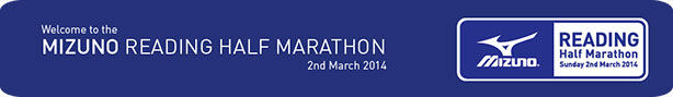 Reading Half Marathon Banner - Run the Reading Half Marathon and help brain tumour patients