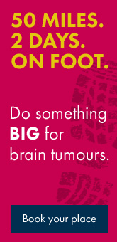 Do something big for brain tumours